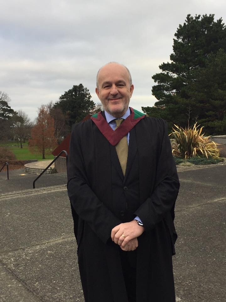 IMI Graduation Day - Graduating in 2016 with a Diploma in Executive Coaching from the Irish Management Institute.