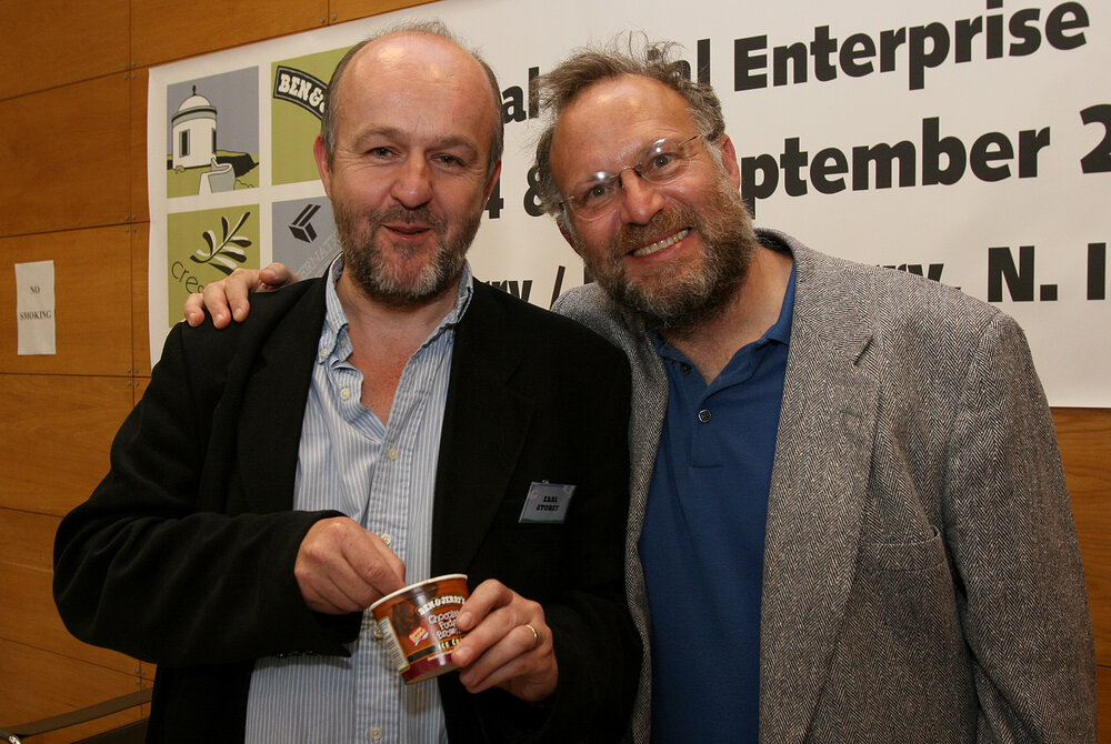 Jerry Greenfield (Ben & Jerry's) interviewed by Earl Storey - Jerry Greenfield speaks to Earl Storey about leadership.Businessperson and philanthropist, Jerry Greenfield is a co-founder of Ben & Jerry's. From beginning in a renovated petrol station in 1978 it is one of the world's best known ice cream brands.
