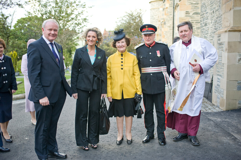 PR for dedication of St Columb's cathedral